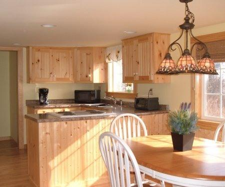Sunny kitchen and dining room - Minutes from Popham Beach-Cozy Maine Coast Cottage - Phippsburg - rentals