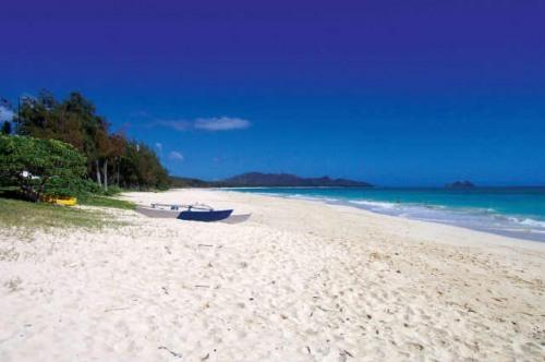 Beach to the left (north) of the beach access - Bellows Beach/Waimanalo Beach Lots,Hot Tub Sleeps8 - Waimanalo - rentals