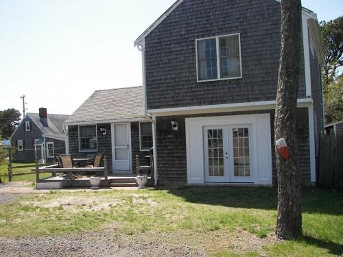 back house exterior - 60 STEPS TO THE BEACH GREAT FOR LARGE FAMILIES - Dennis - rentals