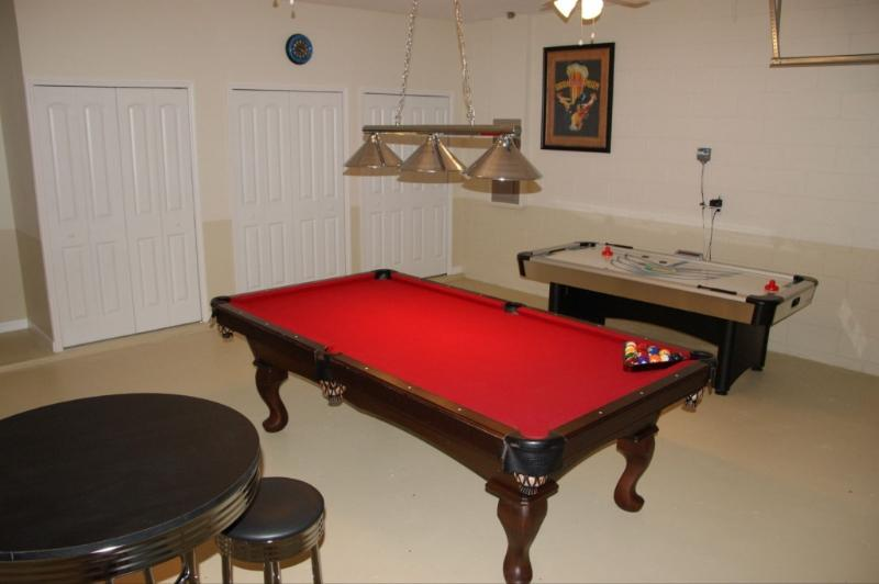 Gameroom - Disney Sunset Manor pool/spa/conservation view - Davenport - rentals