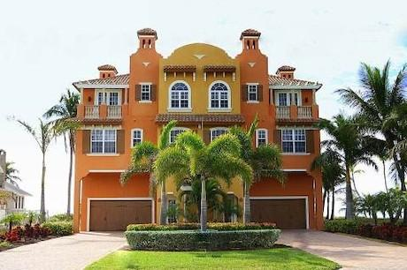 Direct Beach front Tommy Bahama 3200 sq ft 3 bedroom sleeps 10 - Beachfront Luxurious Private Villa - Fort Myers Beach - rentals