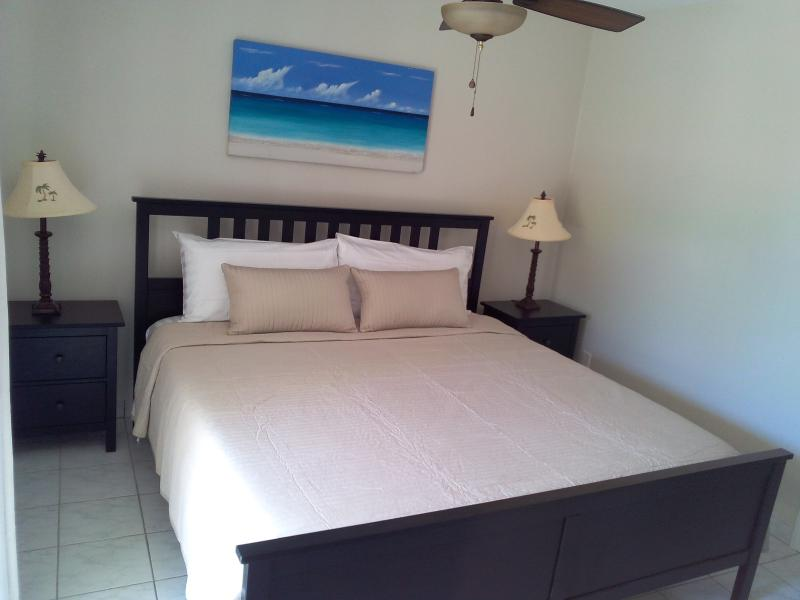 Master bedroom - Renovated Townhouse in Grace Bay - Providenciales - rentals