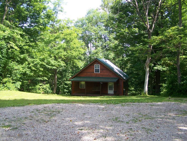 hocking hills cabin - Secluded Hocking Hills 2 bedroom cabin - Rockbridge - rentals