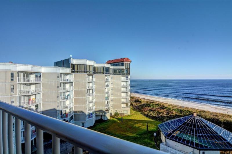 Balcony (View 2) - St Regis 1512 - North Topsail Beach - rentals