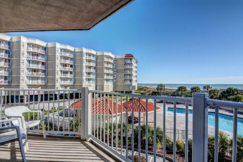 Balcony (View 1) - St Regis 2211 - North Topsail Beach - rentals