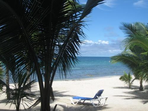 Step off the veranda and onto the sand - Three steps onto fabulous San Francisco Beach - Cozumel - rentals