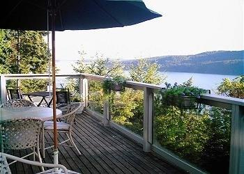Enjoy the Beautiful Views with a morning cup of coffee or evening BBQ - Orcas Island- Water View- Dog Friendly- Rosario - Eastsound - rentals