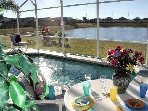 Private pool & Hot Tub Lake View - Pet-Friendly Rolling Hills 4 Bedroom Condo with a Private Pool, Hot Tub, and Games - Kissimmee - rentals