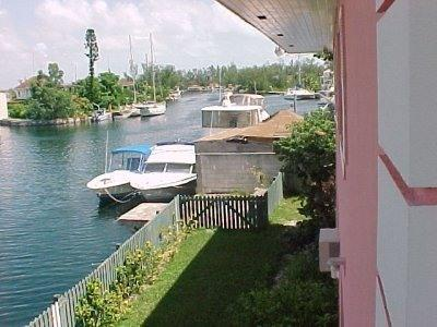 canal view - Waterway Condos: Enjoy the peace and tranquility - New Providence - rentals