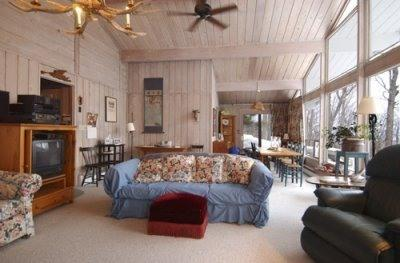 Living & Dining Rooms - Warren, Vermont Sugarbush Ski-Vacation Home - Warren - rentals