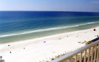 Large Balcony - Gulf Front Condos at The Summit with Deals from 3/21-4/4 - Panama City Beach - rentals