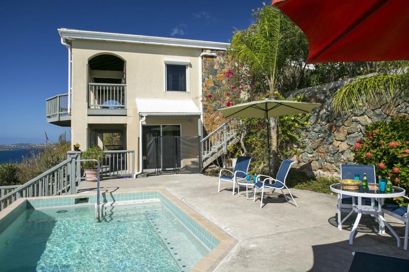 Eaglesnest: Stunning ocean views, family friendly! - Image 1 - Cruz Bay - rentals
