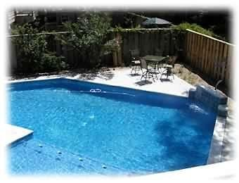 Pool from Guesthouse Balcony - Lg Pool, handicap friendly sleeps 14 - Hilton Head - rentals