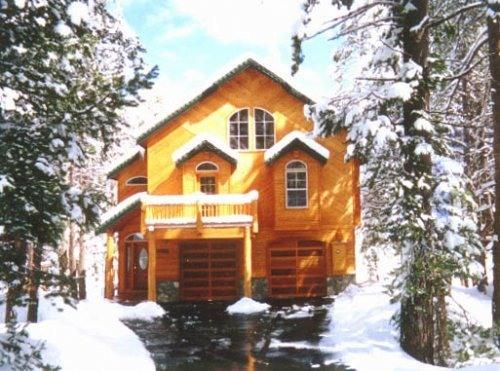 Front of Home - Beautiful Mountain Vacation Home, Sleeps up to 18 - Truckee - rentals