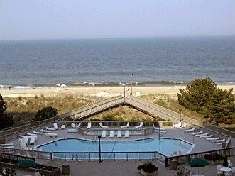 Direct Oceanfront View From The Balcony - Sea Colonys Best Oceanfront View On The Beach - Bethany Beach - rentals