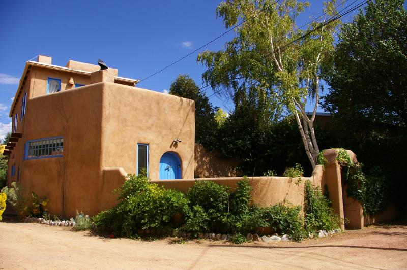 Exterior front - Casa Establo - Eastside Historic Adobe Home - Santa Fe - rentals