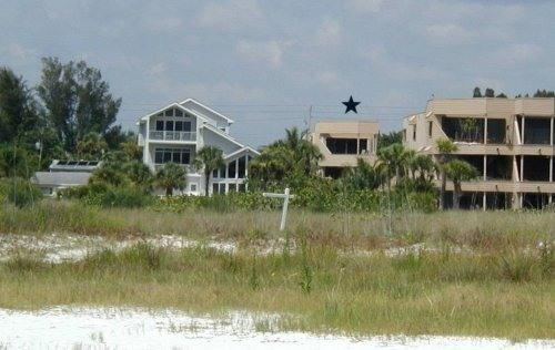 From the beach - Three bedroom house directly on beach with gulf vi - Siesta Key - rentals