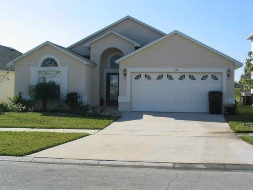 Front of Home - South facing pool and spa home/internet/games room - Kissimmee - rentals