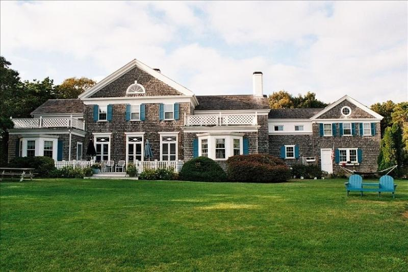 Overlooking Nantucket Sound and large lush lawns - Cape Cod / Chatham HISTORIC FAMILY ESTATE - South Chatham - rentals
