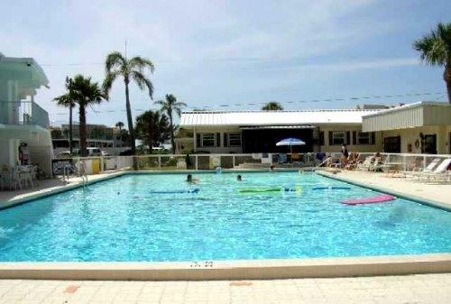 View of Olympic Size Pool & our Two-Bedroom Villa - BEACHFRONT VENICE CONDO: OLYMPIC POOL, FREE Wi-Fi - Venice - rentals
