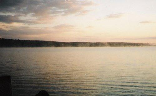 SEBEC LAKE SUNSET - SUNSETS ON SEBEC LAKE - Dover Foxcroft - rentals