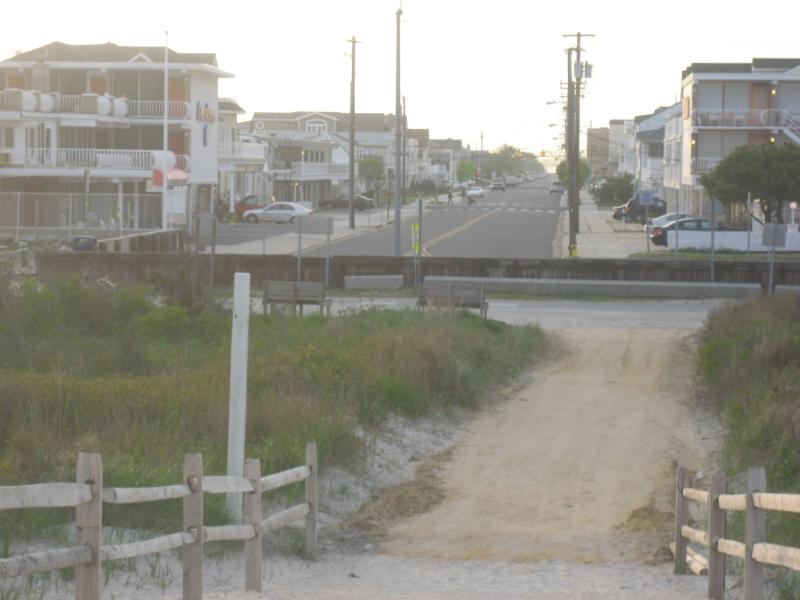 Our condo is the 5th building on the left 2nd floor - Beach block sweetie. - North Wildwood - rentals