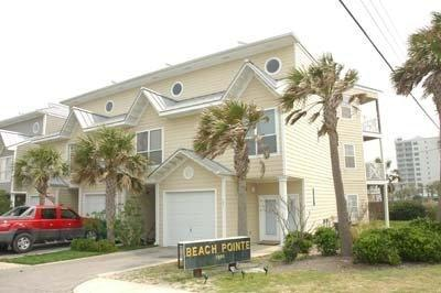 Front of our unit - Beautiful Gulf View - Spacious townhouse - Destin - rentals