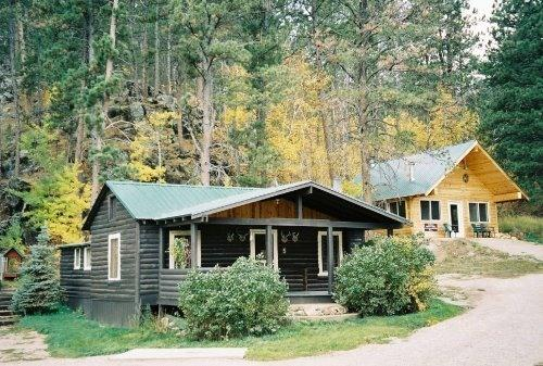 Autumn at the Cabins in the Black Hills - Black Hills Cabins near Mt. Rushmore, Crazy Horse - Hill City - rentals