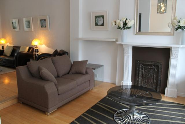 Living room first area. - Atrium Loft Townhouse - Montreal - rentals