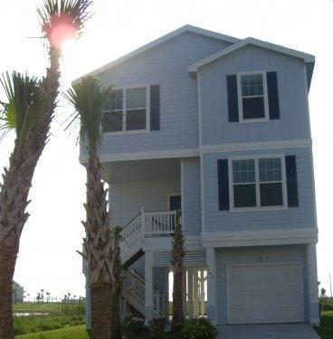 Front of House - Fall Rate 150 per night!  POINTE WEST BEACH HOUSE - Galveston - rentals
