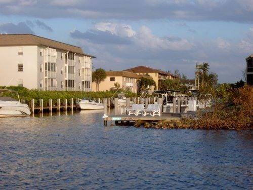 View of condo from bay - Perfect location, free membership  Walker's Marina - Naples - rentals