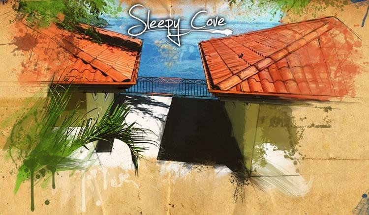 artist painting - Costa Rica Villas - Playa Hermosa - rentals