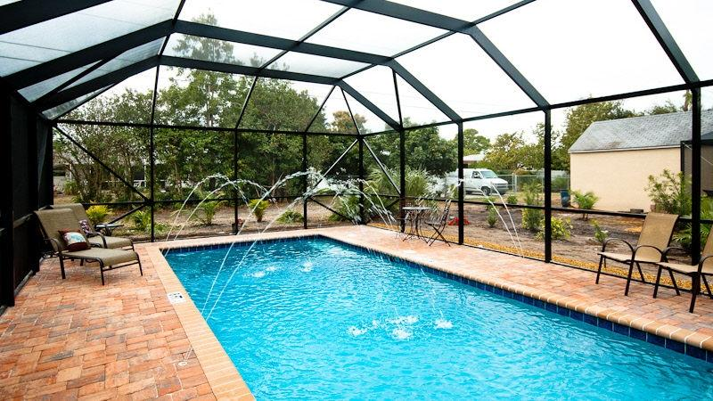 Gorgeous new private pool! multiple fountains! - Gorgeous Venice Island House with New Private Pool! - Venice - rentals