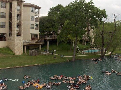 Condo view - New Braunfels Condo Vacation Rental - New Braunfels - rentals