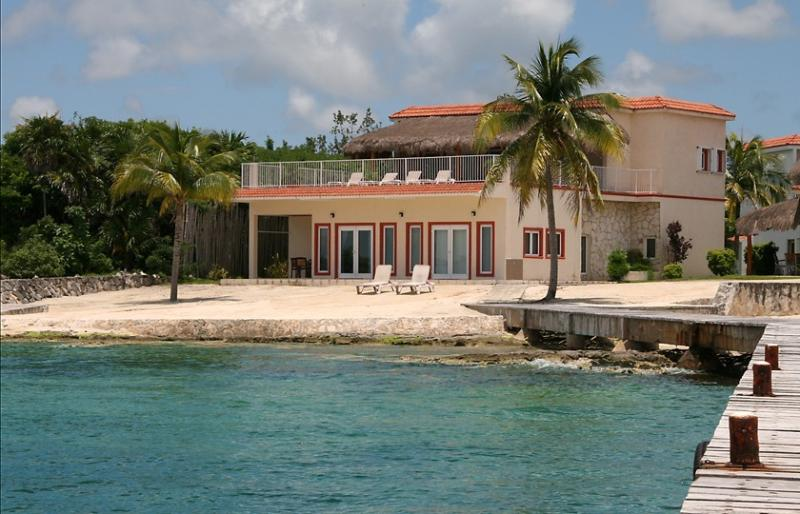 Yes, actually ON the beach! - Villa Debra - Luxury ON the Beach - Cozumel - rentals