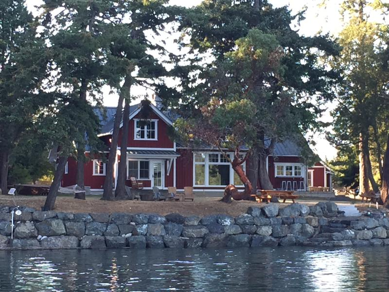 House from the water - Cozy Chic Waterfront - Roche Harbor - Friday Harbor - rentals