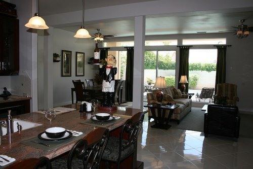 Kitchen Bar & Greatroom - ABSOLUTELY GORGEOUS Desert Retreat - Palm Desert - rentals