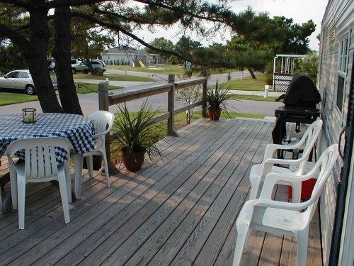 Deck - 2-Bdrm/Waterview/Close to beach/pool/pet friendly - Virginia Beach - rentals