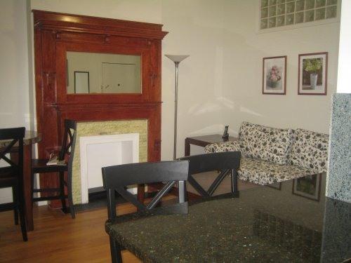 living room. granite countertop - TWO BEDROOM FULLY FURNISHED UPPER WEST - Manhattan - rentals