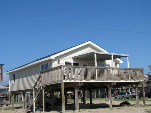 View from the Gulf - Great Family Home, Quiet Beaches - Galveston - rentals