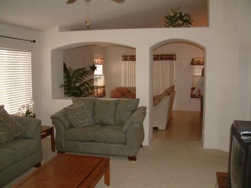 723 livingroom area - Golf & Spring Training Camps nearby, Cabana Sauls - Buckeye - rentals