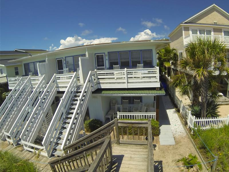 Almost Heaven D-OCEANFRONT 3 Bd/3Bth 1st Flr WiFi - Image 1 - Surfside Beach - rentals