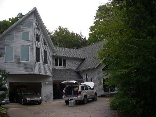 Front of Home - Large Rental in Fish Creek, Door County. WOLFGANG - Fish Creek - rentals