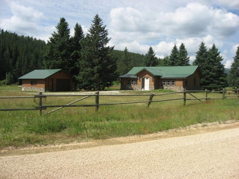 Outside view of cabin from road. - Black Hills Getaway - Rochford - rentals