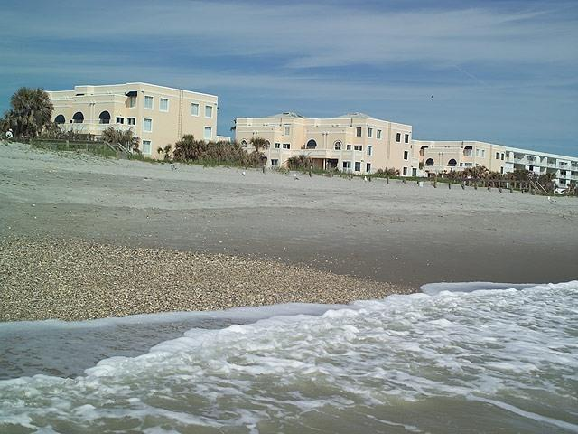 view from beach - Quiet Oceanfront Beach Location-Royal Mansions - Cape Canaveral - rentals