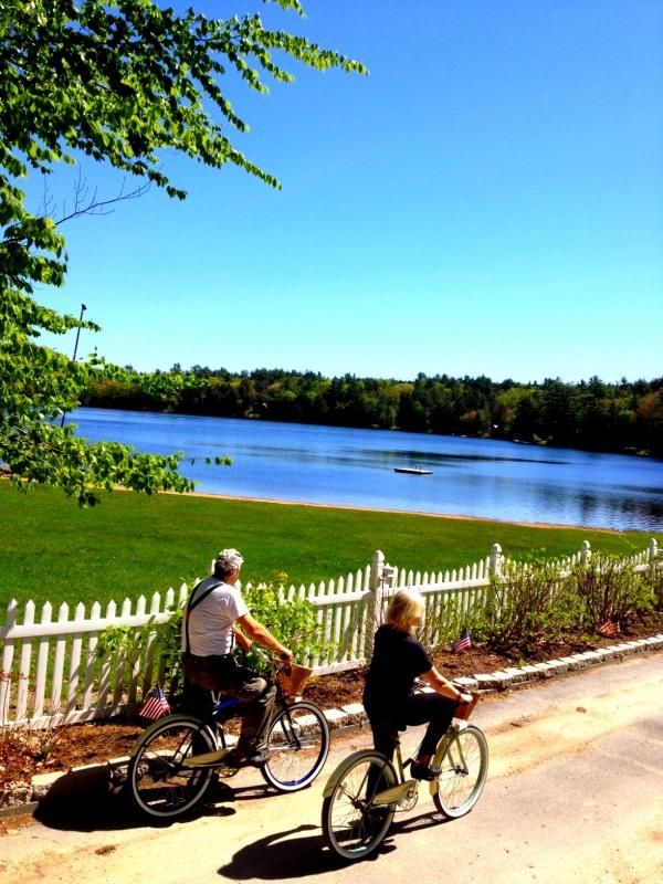 Ride your bike around the lake - 125 Romantic Cottage Studio Getaway - Northwood - rentals