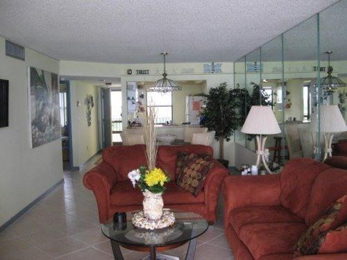 living room - Beach Front Condo - Fort Pierce - rentals