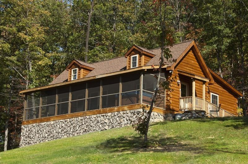 Kalmia Cabin - Kalmia Log Cabin in Shenandoah Woods: Mtn views! - Luray - rentals