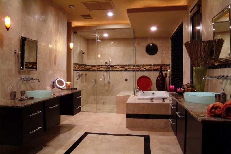 Master bathroom - Luxury McCormick Ranch 4 bed/2 ba w/ pool-sleep 8 - Scottsdale - rentals
