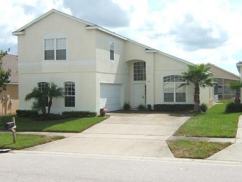 Front of house - Villa 6 BR/4BA South Pool/Spa Near Disney - Kissimmee - rentals